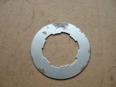 57-2056, Triumph Tab washer, Gearbox nut